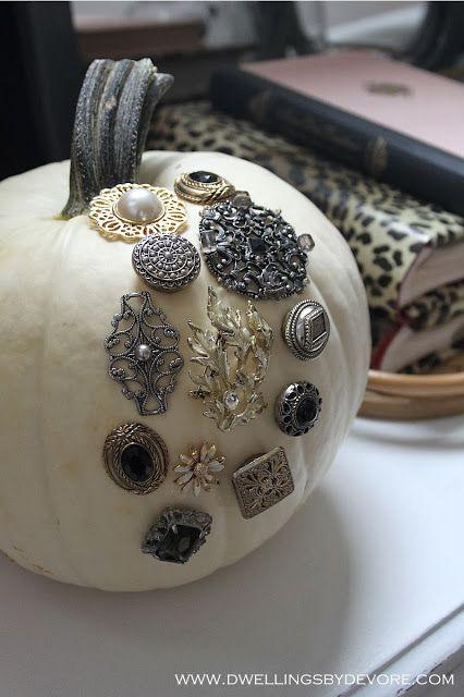 LOVE this pumpkin idea.