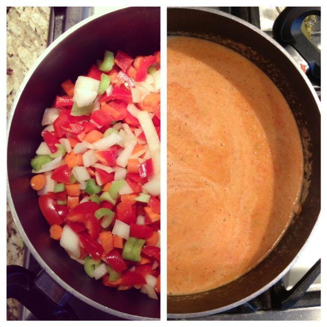 Delicious Detox Soup - vegan, vegetables, red pepper, healthy # ...