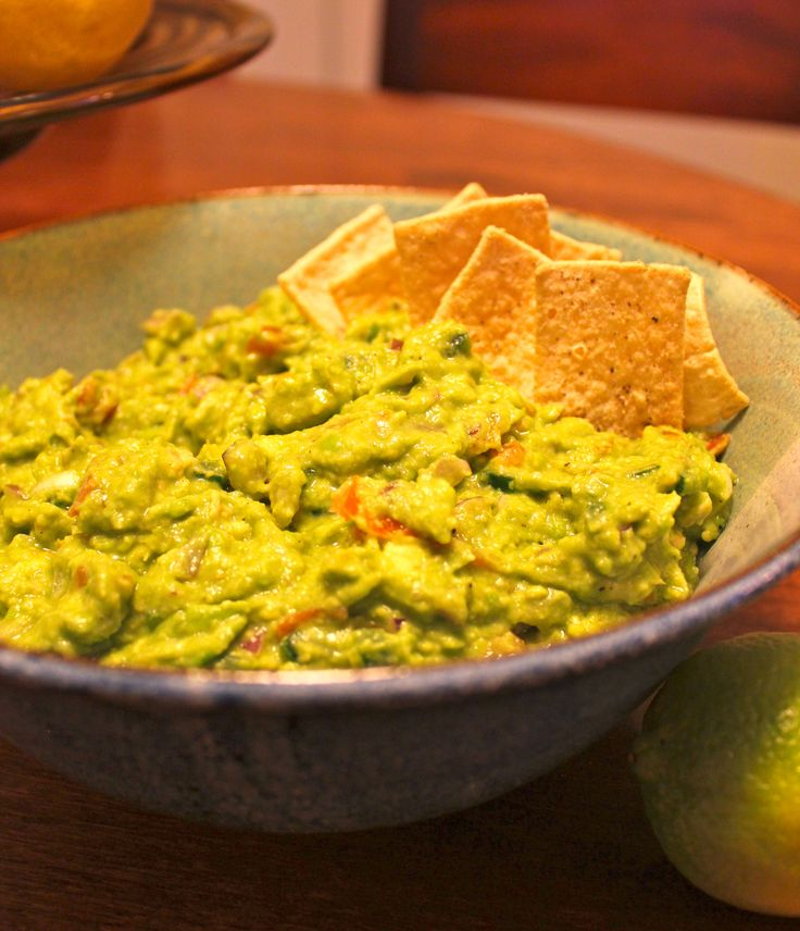 Easy Guacamole Recipe | Food | Pinterest