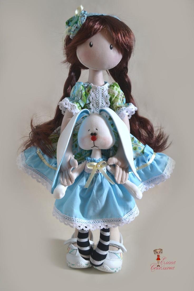 Душа тряпичную куклу