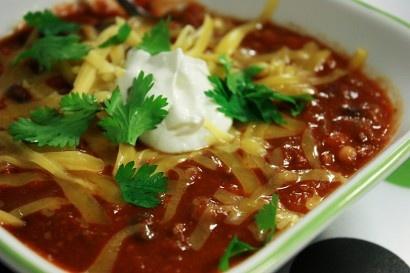 Bean Turkey Chili | Recipes | Pinterest