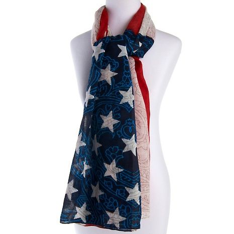 usa flag scarf my style