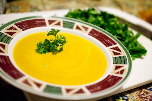 Curried Carrot and Squash Soup | Food | Pinterest