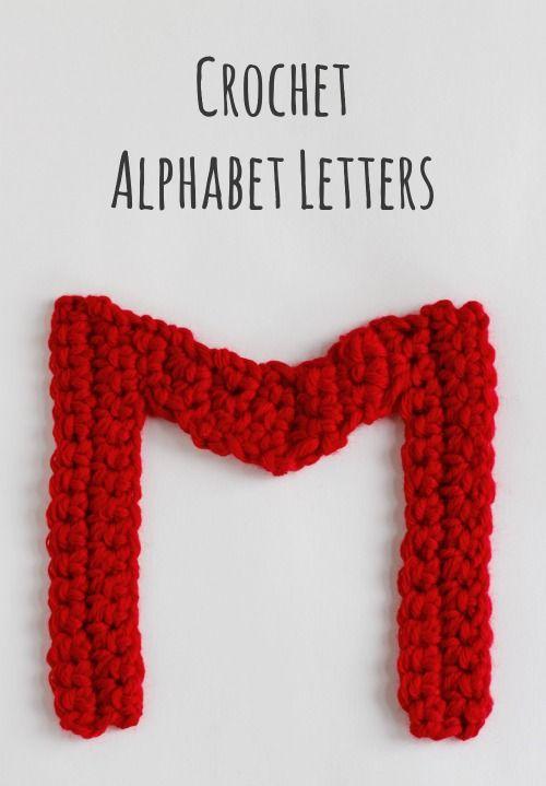 Crochet Pattern Alphabet : Crochet-A-Day: Crochet Alphabet Letters