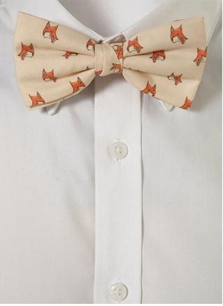 Fox bow tie.