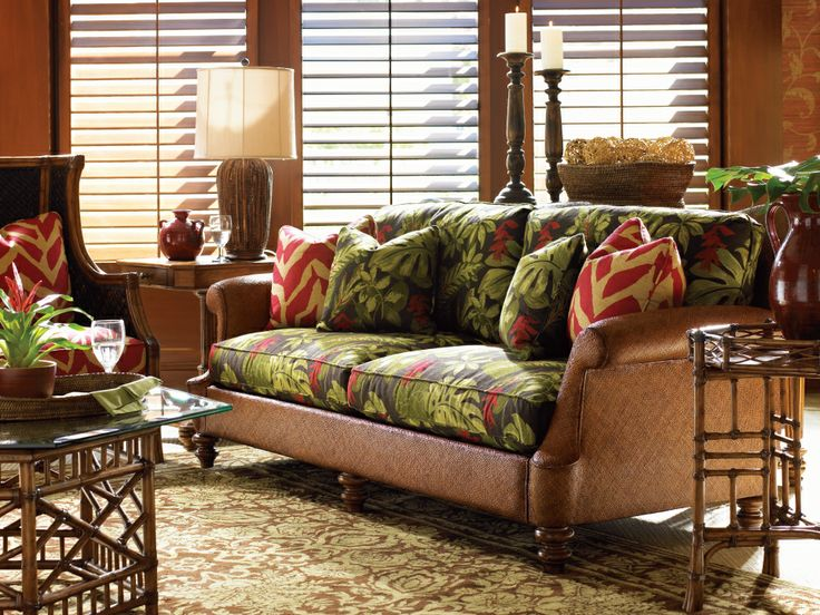 Tommy Bahama, Island Estate living room  Home  Pinterest