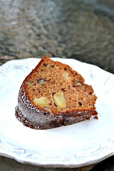 Maple Apple Spice Bundt Cake | sweets.. | Pinterest