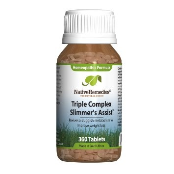 Triple Complex Slimmers Assist for Weight Management (360 Tablets ...