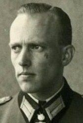 Willy Johannmeyer (sometimes mistakenly written Willi) was a German officer during World War II. He was also a recipient of the Knight's Cross of the Iron Cross with Oak Leaves, and, by the time of the dissolution of the Third Reich, the last Army adjutant (Heeresadjutant) to Adolf Hitler.