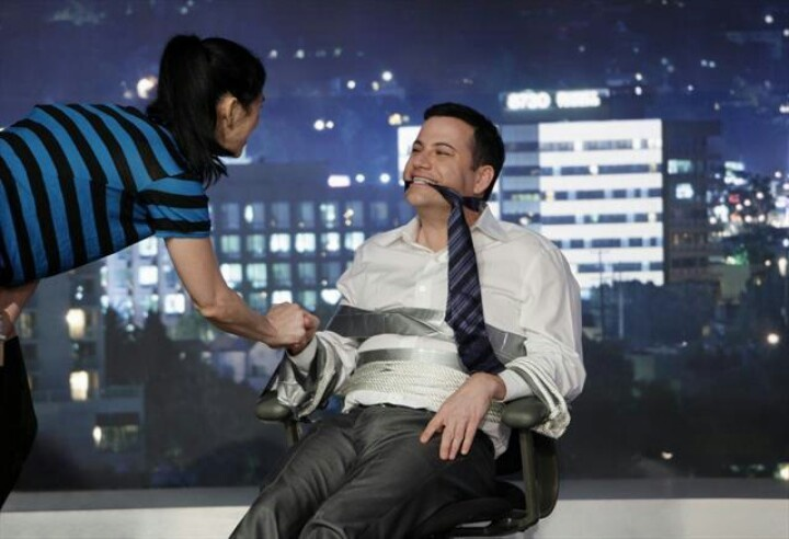 Sarah Silverman on Jimmy Kimmel live | Jimmy Kimmel my ...