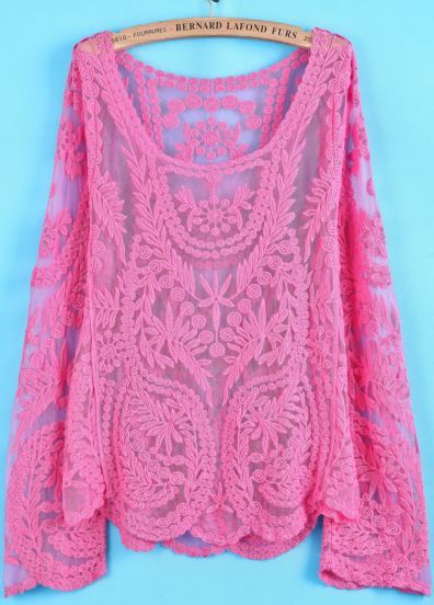 Juliette Crochet Blouse 74