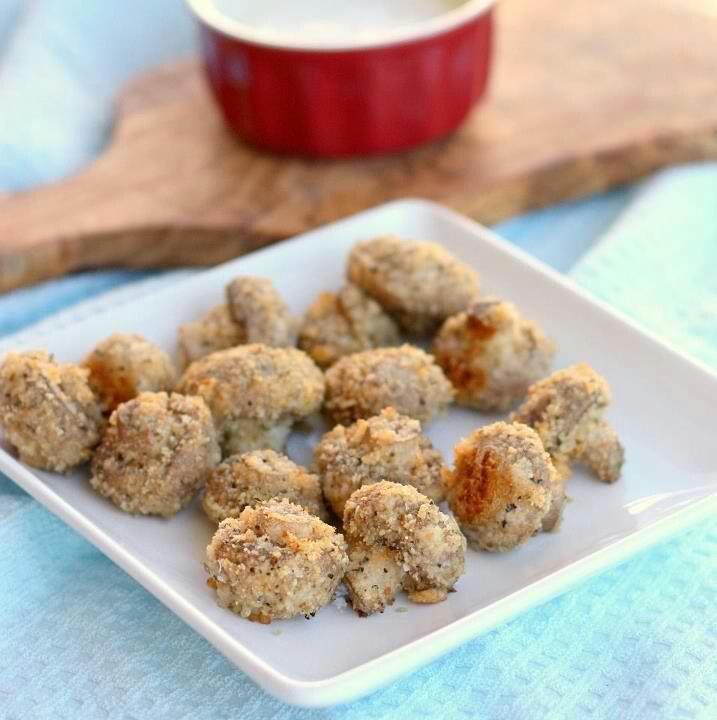 Crispy Baked Mushrooms | Appetizers, Dips, Sauces, Seasonings | Pinte ...