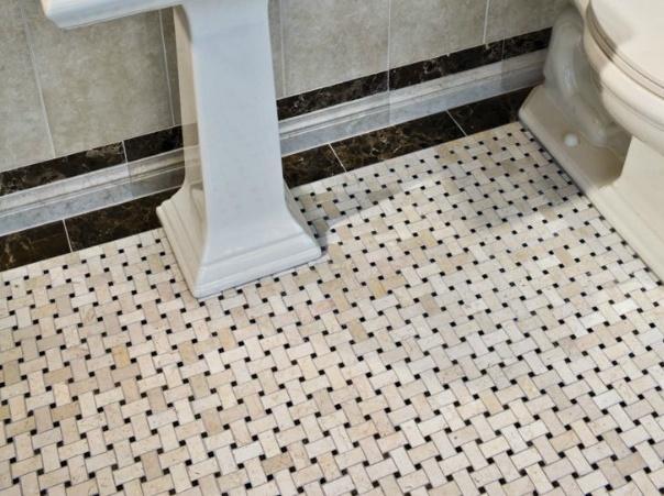 Basket Weave Floor Tile Home Improvements Pinterest