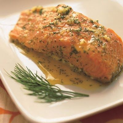 Food Free and Clear: Eat Clean Allergen FREE!: Garlic and Dill Salmon