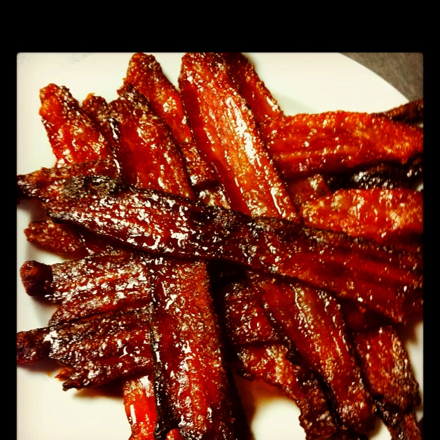Caramelized Bacon...bacon makes practically everything better.