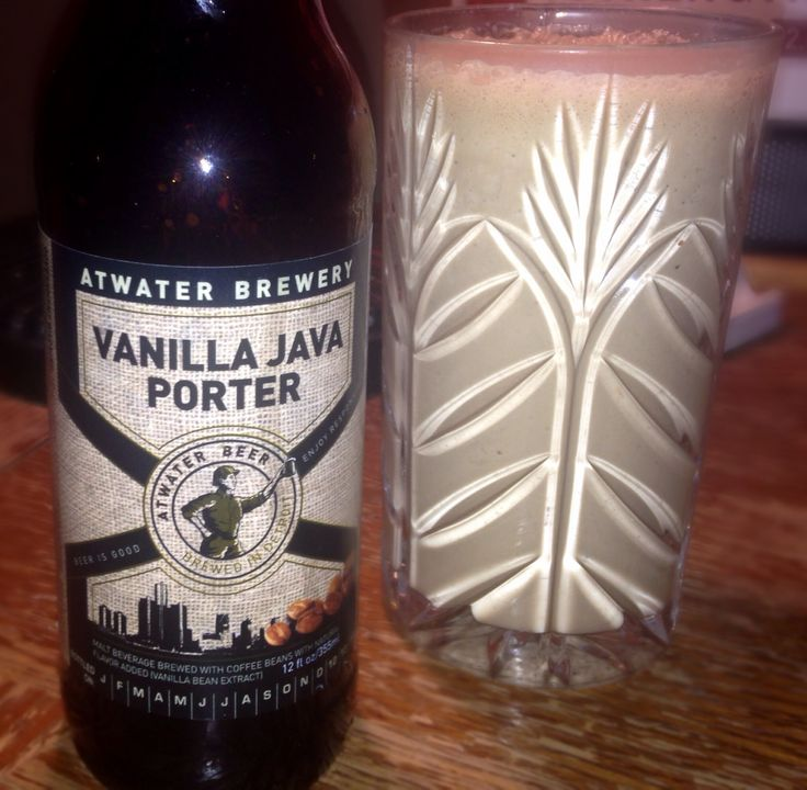 porter beer milkshake: beer + coffee + coffee ice cream + chocolate ...