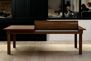 Modern pianos for small rooms space saving ideas for Piano for small space