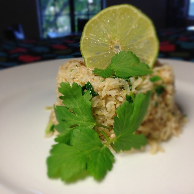 coconut rice brown coconut rice with cilantro recipes dishmaps brown ...