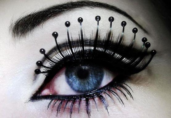 Spider False Eyelashes Pin by Alexis Gordon o...