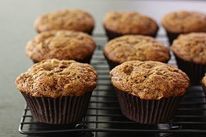 Spiced Zucchini Apple Muffins | Desserts | Pinterest