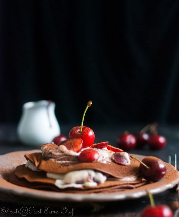 Black Forest Pancakes | Recipes to try! | Pinterest