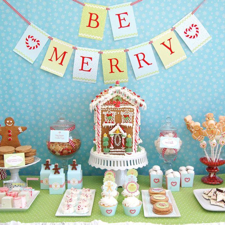 Christmas Dessert Table Ideas For Kids I 39 D Make That At Christmas