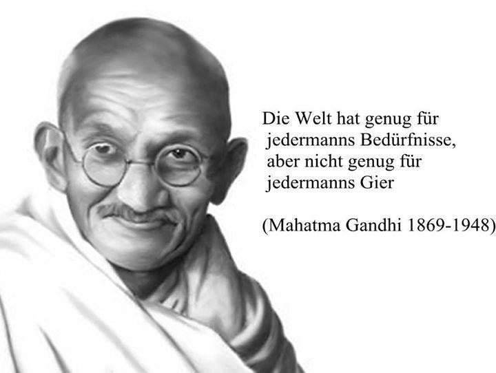 Weise Zitate Gandhi