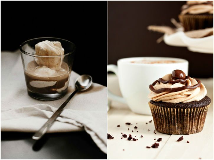 Affogato and Cafe Mocha Cupcakes on eatboutique.com