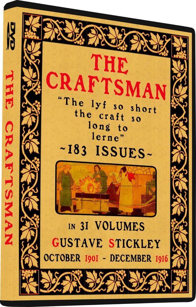 Craftsman Magazine Gustav Stickley House Plans Arts