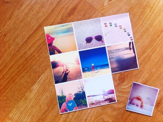 Ways to print your Instagram photos.