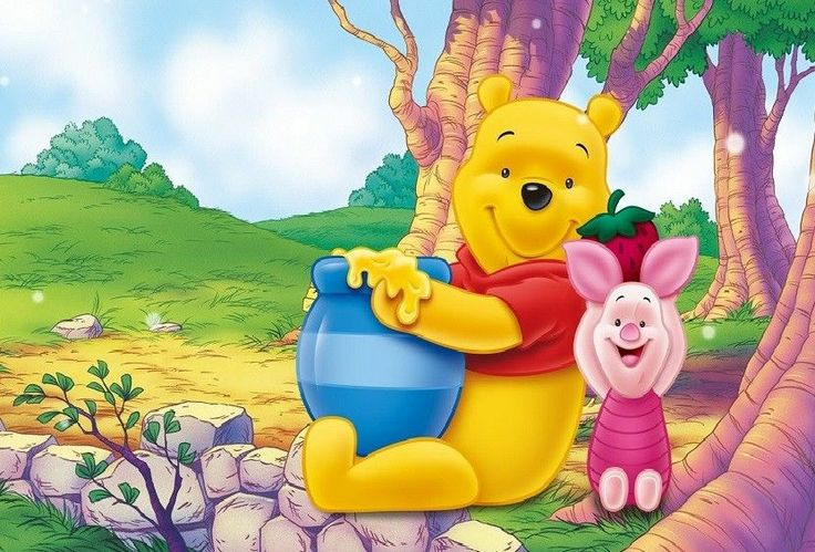 13x19 Inch Winnie The Pooh Poster Kids Room Nursery Wall Art PERSONAL