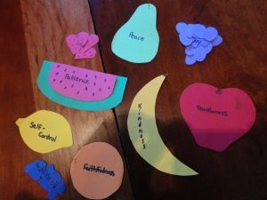 fruits of spirit craft | Sunday School Crafts | Pinterest