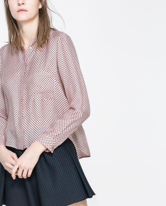 Zara Star Print Blouse 99