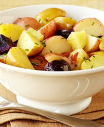 Three-Color Potato Salad Recipes — Dishmaps