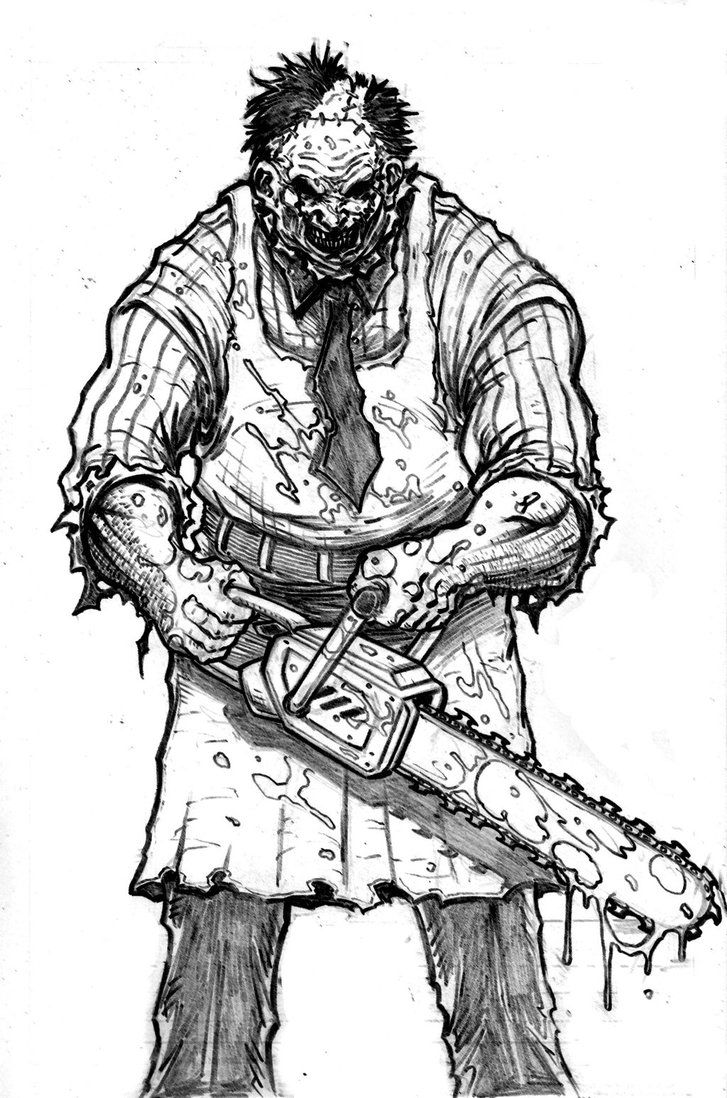 Texas Chainsaw Massacre Coloring