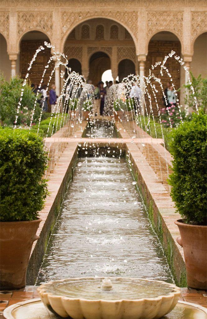 Alhambra fountain