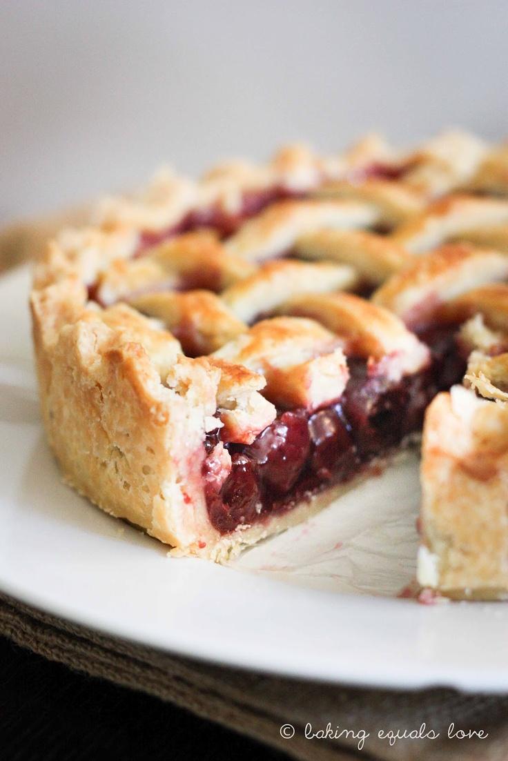 Sweet Cherry Pie | sweet alchemy | Pinterest