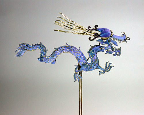 Dragon Hairpin  Late Qing dynasty  China