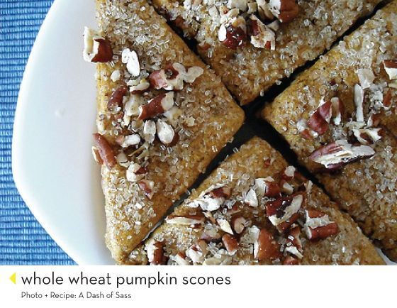 whole wheat pumpkin scones (and 24 other scone recipes!)