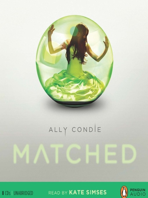 YOUNG ADULT PICK! Matched / Ally Condie ~ Cassia has always trusted the Society to make the right choices for her: what to read, what to watch, what to believe. So when Xander's face appears on-screen at her Matching ceremony, Cassia knows with complete certainty that he is her ideal mate... until she sees Ky Markham's face flash for an instant before the screen fades to black.