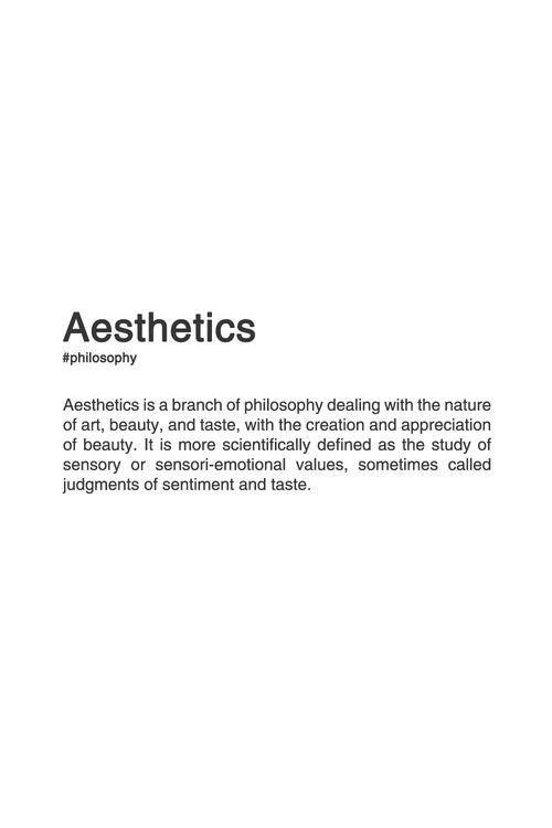 Aesthetics definition planet venus pinterest for Architecture definition simple