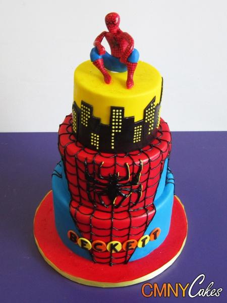 Spiderman cake ideas - photo#26