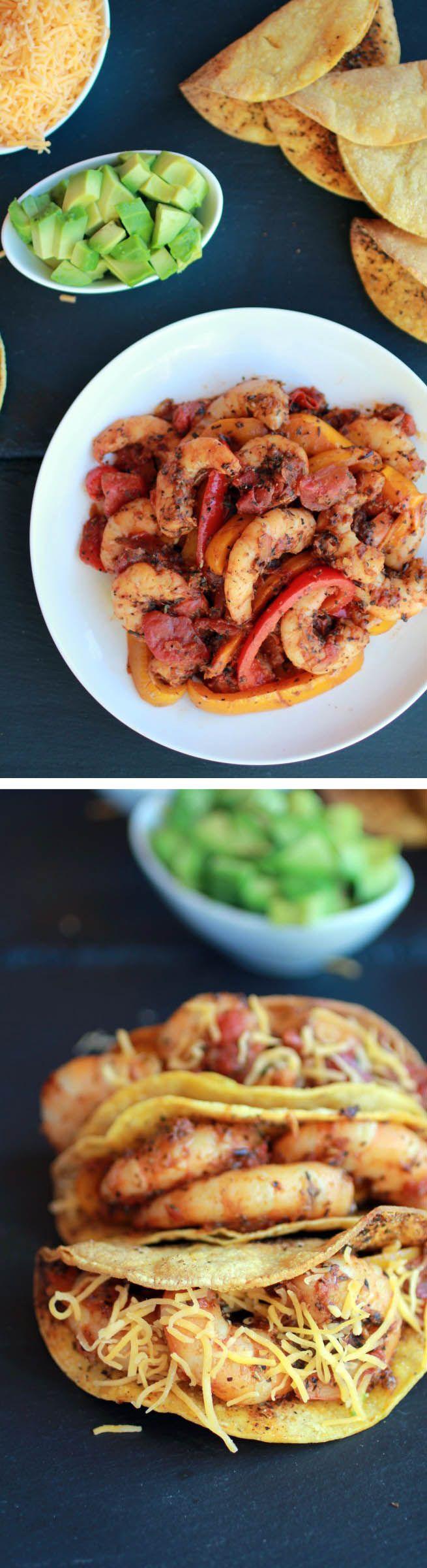 Cajun Shrimp Tacos with homemade Hard Shell Tacos | Recipe