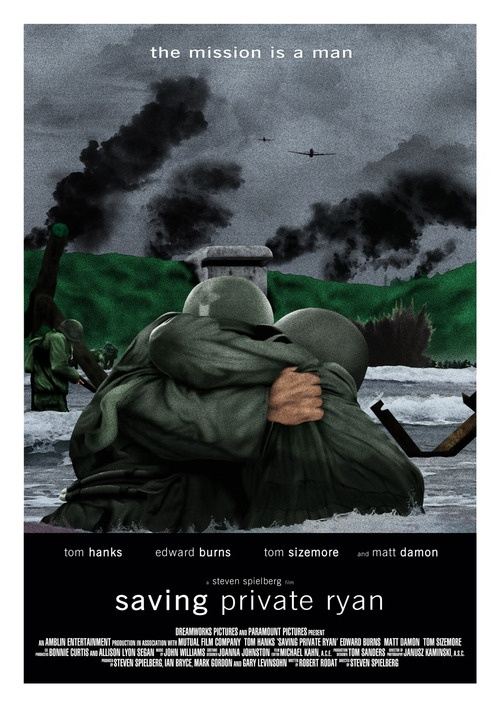 d-day in saving private ryan