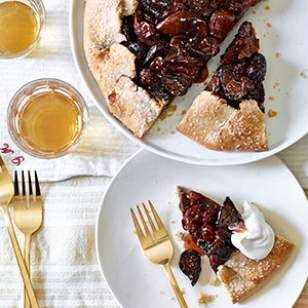 fig amp cherry galette recipe the crust for this is amazing i did fig ...