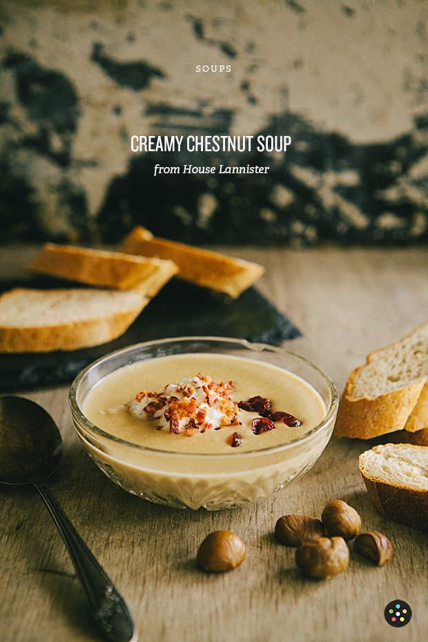 Creamy Chestnut Soup with Bacon Cream | Pepper.ph