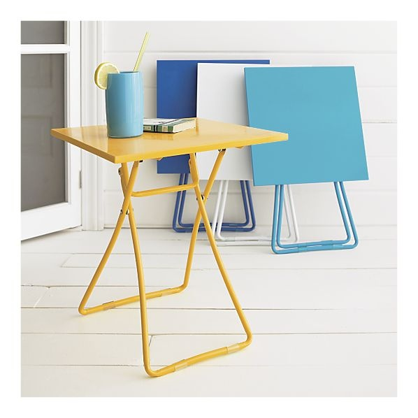 crate and barrel outdoor tables for the new apt pinterest