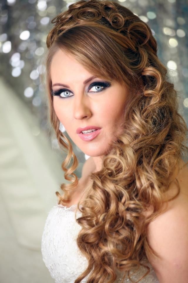 Wedding Hairstyles For Medium Hair With Bangs : Pin by sharon on wedding hairstyles