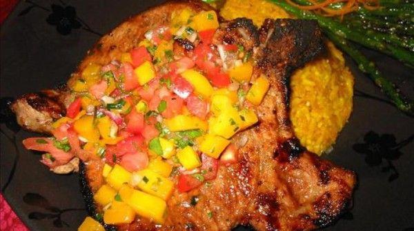 Cumin-Rubbed Grilled Pork Chops   Meat ~ Pork   Pinterest