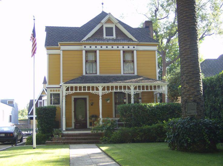Folk victorian house exteriors pinterest for Victorian farmhouse architecture